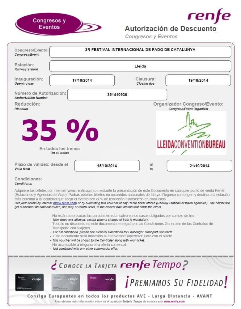 Festival InterFado: Entrades /Tiquets/ticketing/billetterie