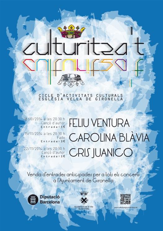 Cicle activitats culturals. Gironella.