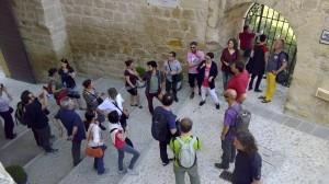 Visitant el Castillo de la Mota. Alcalá la Real.