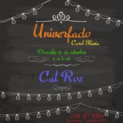 Cartell Ros carolina Blavia UniverFado